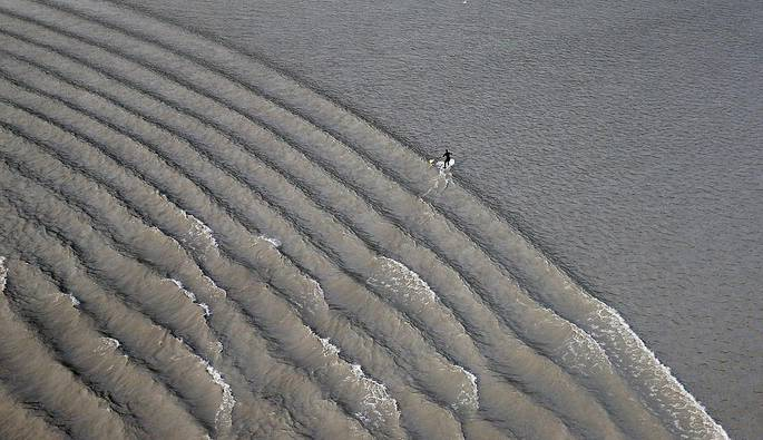 tidal bore waves